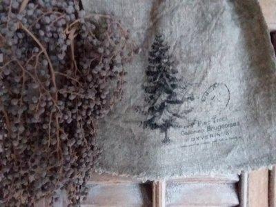 Shabby doek 'Pine Trees'